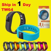 anti lost - FITBIT Waterproof Bluetooth TW64 Smart Bracelet Akin Flex Anti Lost Sleep Tracker Remote Photograph smart Wrist Watch for IOS Android OTH048