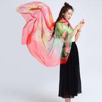 adult poncho towel - From India Adult Brief Silk Poncho Scarf Women Brand Luxury Bufanda acne studios Summer Beach Towel Oversize Blanket Shawl