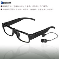 Wholesale Smart glasses Driving Glasses Bluetooth Stereo Headset Music glasses Wireless Handsfree With Mic Music For Apple Samsung Any Mobile Phone