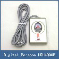 Wholesale 2016 Brand New USB Fingerprint Reader Scanner Sensor For Computer PC Laptop With SDK ZKT Digital Persona URU4000B