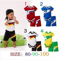 baby spandex - Summer Baby Sport suit jumpsuits shorts two woolly