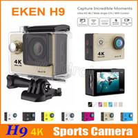 Le moins cher 4K Ultra HD 1080P 30fps 12MP 170 degrés grand angle WiFi HDMI Sport action caméra DV plongée étanche DVR casque vidéo caméscope