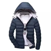 brand winter jacket for men - Suprem Jackets Warm Winter Jackets Outdoor Winter Mens Coats Jacket Hoddie for Mens Styles Brand Jackets Multiple Colour Cotton Clothing