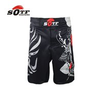 Wholesale Beijing Features Face breathable cotton boxer shorts mma sports training thai boxing mma fight sho rts fight shorts shorts mma