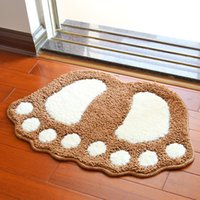 beautiful door mats - Cute flocking feet mats door mat beautiful bath mat bathroom mat personalized doormat