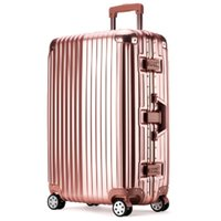Wholesale Fashion Trolley Case TSA Lock Inch For All People Travel Luggage Suitcase