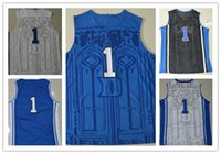 basketball colleges - Hot Sale College Jerseys Uniform Home Black Blue White Duke Basketball Jerseys Stitched name number Size S M L XL XXL