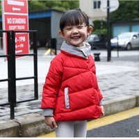 Wholesale 2016 Winter Newest Design Fashion Children s Long Sleeve Girls Thicken Cotton padded Jacket Winter Warm Coat
