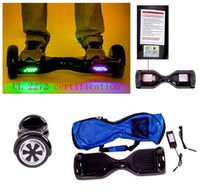 bags scooter battery - Smart Electric Scooter UL Certification Hoverboard High performance Lithium Battery Smart Scooter Safest Drifting Hoverboard Free Bag