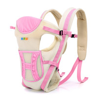 Wholesale Baby solid sling manduca colors new fashion baby tops cotton shoulders front carry carrier baby backpack