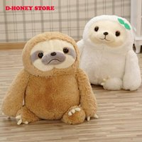 baby sloth toy - New Crazy Animal City Cute sloth Plush Toys Baby birthday gift The Anime Movie Zootopia Sloth Flash Stuffed Animals Plush Dolls
