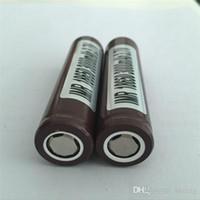 Wholesale HG2 battery mAh A Rechargable Lithium Batteries PK Sony VTC5 VTC4 Battery fedex
