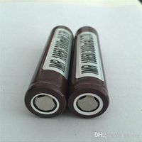 Wholesale MOQ HG2 battery mAh A Rechargable Lithium Batteries PK Sony VTC5 VTC4 Battery