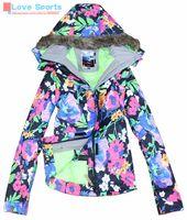 Wholesale Newest High Quality Winter Cotton Padding Outdoor Snowboard Hiking Skiing Jacket Suit Windbreaker Women Warm Winderproof Coat
