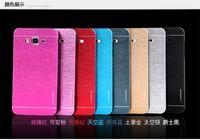 ace hard cover - Luxury Brushed Metal Case Motomo Brand Slim Hybrid Shell Plastic Hard Back Cover For Samsung Galaxy J1 J1 ACE J2 J3 j5 j7 A3 A5 A7