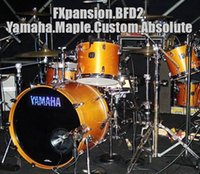 absolute custom - FXpansion BFD2 Yamaha Maple Custom Absolute software source