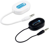 Wholesale New Arrival BM E9 Mini Bluetooth V3 Wireless Music Audio Receiver Stereo Audio System Music Bluetooth Adapter M Black White