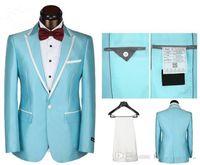 best italian brands - One Button Luxury Brand Best Men Suits fashion dress Suit and Pants italian wedding suits mens groom slim fit groom suits Jacket Pants