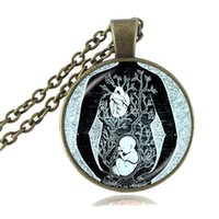 artist baby - Fetus Necklace Leonardo Da Vinci Drawing Pendant Artist Doctor Midwife Pregnant Mom Baby Pendant Birthing Gifts Women Jewelry Mother Present