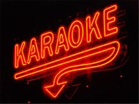 Wholesale 17 quot x14 quot Karaoke Real Glass Neon Light Signs Bar Pub Restaurant Billiards Shops Display Signboards