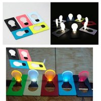 best wedding cards - Novelty Lighting Best price novelty Mini Portable Pocket LED Card Light Lamp put in Purse Wallet