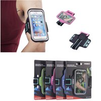 adjust screen - For iPhone s plus s plus ROMIX Practical Movement Running Activities Arm Bands Double Buckle Adjust The Touch Screen Exercise Armbands