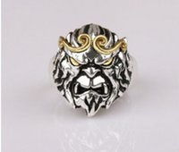 ancient china zodiac - In the new style and hot style aldult s china silver Restoring ancient ways chinese zodiac monkey king male gifts silver plated ring