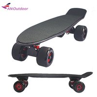 Wholesale inch Good quality Pastel Color Fish Skateboard Single Rocker Longboard Mini Cruiser Skate Board Gig Tire Black Blue Green