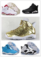 Wholesale 2016 new retro black cat mens basketball shoes s Pinnacle Metallic Gold mens sneaker Carmine sports shoes oreo discount shoes