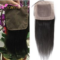 Cheap Two Kinds Silk Base Best Straight Silk Base Closure