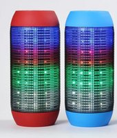 audio stream player - Wireless Bluetooth Mini Speaker wireless Streaming Colorful LED Lights High Quality with retail box