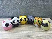 animals wireless - Originality Mini lovely cartoon Animal Adorable Pet Subwoofer Bluetooth wireless portable Speakers Mobile phone backpack Pendant