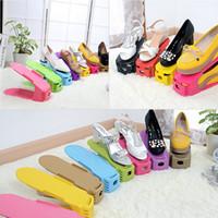 Wholesale new arrival high quality Fashion Durable Skidproof Space Saving Shoe Rack Storage Organizer Display Shelf