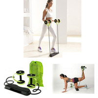 ab roller sale - Hot Sale Multifunction Waist Equipment Home Fitness AB Roller Revoflex Xtreme Abdominal Resistance Exerciser Abdominal