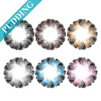 Wholesale Pudding Big Eye Contact Lenses yearly disposable cosmetic contacts ready stock