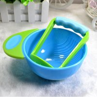 Wholesale 2016 Manual Freshfood Infant Healthy Baby Food Mills Supplement Mother Helper For Diy Food Dismembyator Grind Bowl