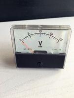 analog voltage panel meter - Analog Volt Voltage Voltmeter Panel Meter DC V