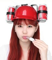 beverage can caps - Cool New fashion PU snapback bone baseball caps for men women drinking Beverage and wine cans Drink Hat lazy people love