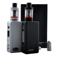 Cheap electronic cigarettes EPOWER GT vapor Starter KIT wholesale box mod kits with Arctic Tank 18650 battery VS kanger subox mini kit
