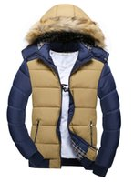 Wholesale new winter coat thickening han edition big yards collars detachable cap down cotton padded jacket