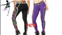 Cheap 2016 New women Pants yoga fitness dance sportswear female elastic knitted capris fashion Pants