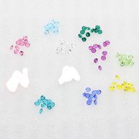 Wholesale can mixed MM czech stones floating charm per