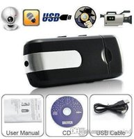 Cheap U8 SPY Gadgets USB Disk Cameras DVR Motion Detect Camera Cam Hidden Camera Mini DVR Video Recorder