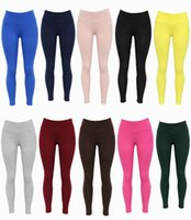 active deodorant - Solid color high waist active legging colors cotton long pants Absorbent warm deodorant anti off silk breathable leggings