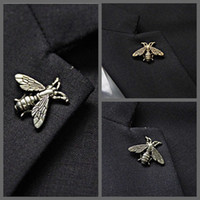 bee trade - 2016 New Foreign Trade Hot Models Retro Small Bee Brooch Metal Alloy Buckle Exotic Brooch