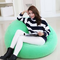 Wholesale New Arrival Inflatable Sofa Living Room Furniture Lazy Bean Bag Chair Leisure Beanbag Corner Sofas Cozy Lounger Chair JF0059