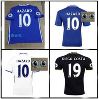Wholesale 2016 TOP Quality Chelsea Jerseys home away jerseys Third TERRY HAZARD Pedro OSCAR DIEGO COSTA jerseys
