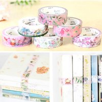 Wholesale BentotoHouse DIY Washi Paper Tape Decorative Tape Stationery Paper Tape Masking Tape Color mm m LJJP121