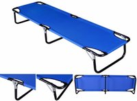 Wholesale Outdoor Portable Military Folding Camping Bed Cot Sleeping Hiking Guest Travel