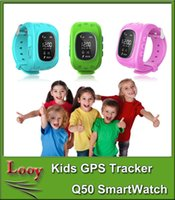 baby safe cameras - Smartwatch Kid Safe GPS Watch Wristwatch SOS Call Location Finder Locator Tracker for Kids Child Anti Lost Baby Monitor Q50 DHL free ship